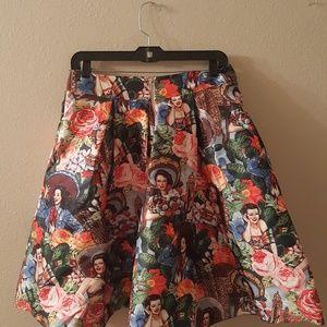 BANJUL Skirts - Banjul Skirt Women's Printed High. Size: L